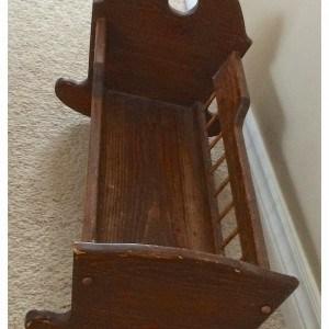 a vintage cradle