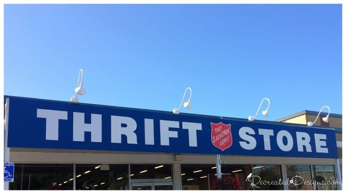 Salvation Army Thrift store in Smiths Falls Ontario