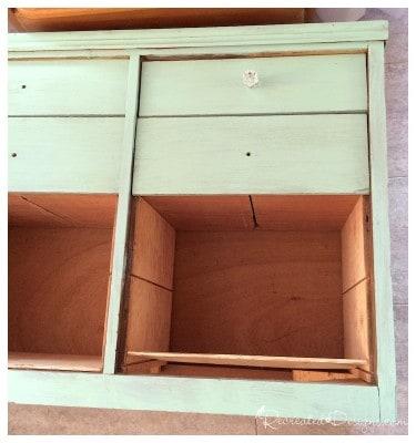 adding_shelves_to_old_dresser