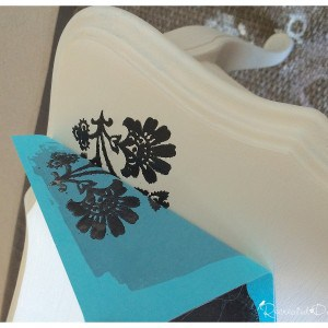 silk screening with black paint