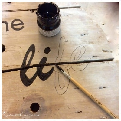 filling-in-trasfered-letters-on-wood