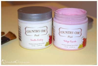 Country Chic Paint in Vanilla Frosting and Vintage Cupcake