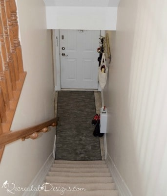 a picture of a staircase and entryway