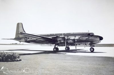 old Canadian Air Force Plane