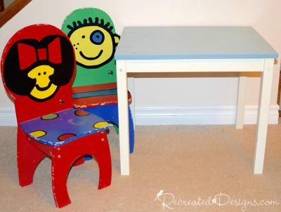 childs-table-chairs-before-painting-country-chic-paint
