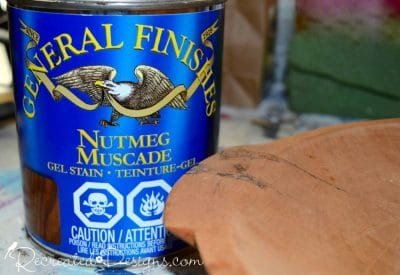 General Finishes Gel Stain in Nutmeg