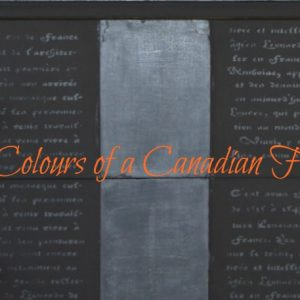 paint the colours of a Canadian Fall {Black}
