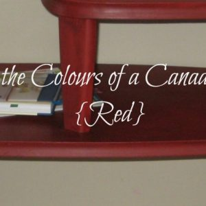 Paint the Colours of a Canadian Fall in Red