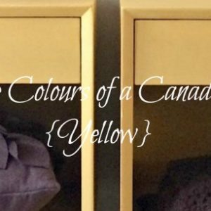 Paint the Colours of a Canadian Fall in yellow