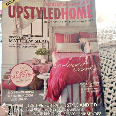 cozying up with Matthew Mead Upstayled Home magazine