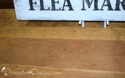 solid wood dresser top