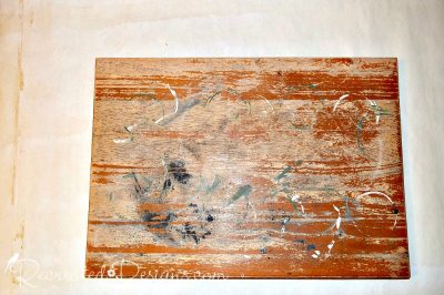 an old table top reclaimed