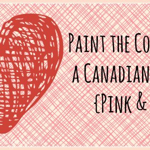 Paint the Colour of a Canadian Winter {Pink & Red}