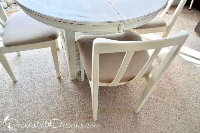 Beautiful curves of some art deco chairs
