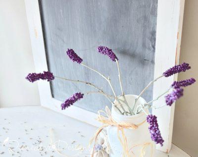 beautiful, handmade Lavender stems