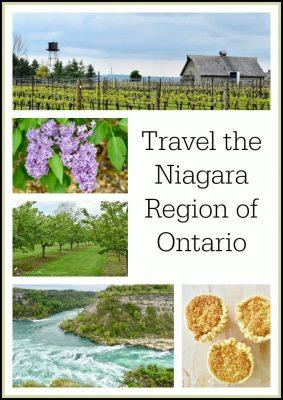 Travel the Niagara region in Ontario