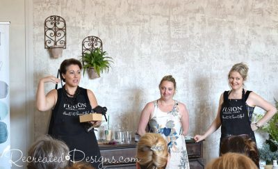 Fiona, Jennylyn and Lori at Fusion Mineral Paint