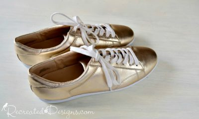 brand new Nine West gold shoes