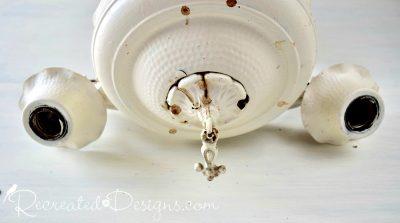old cream coloured chandelier