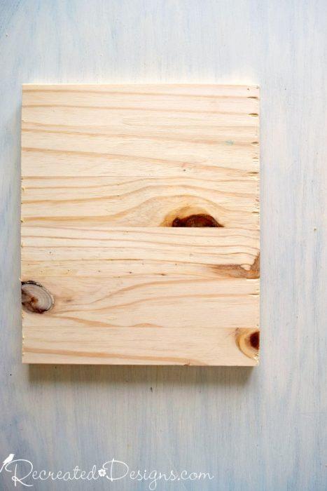 scrap piece of pine