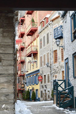 a peek inside Old Quebec City Canada travel