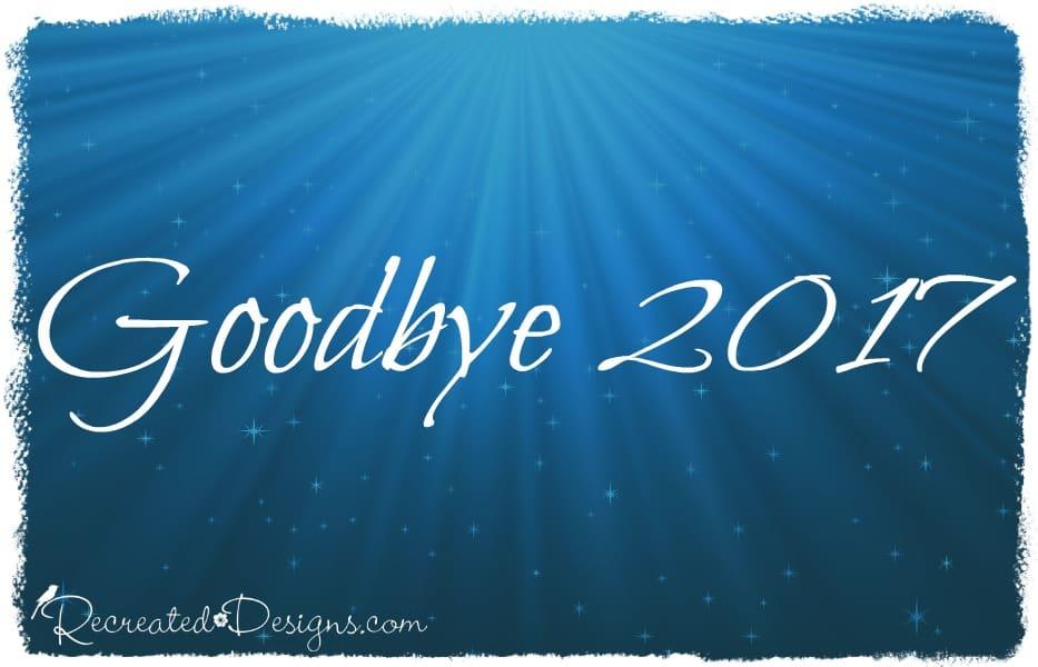 Good bye 2017