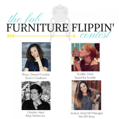 Fab Furniture Flippin' Contest logo