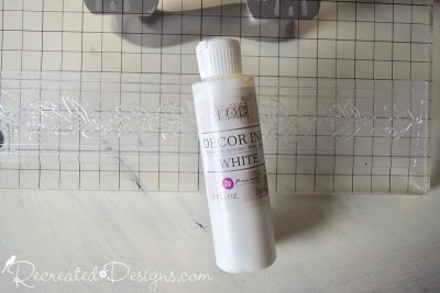 Decor Ink in White from IOD
