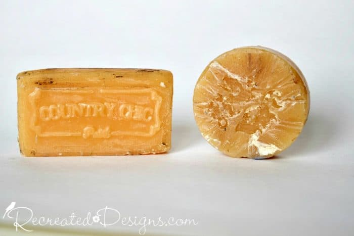 wax blocks for layering paint on furniture upcycles