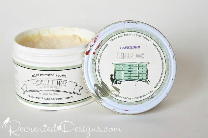 Miss Mustard Seed Furniture Wax with Lavender