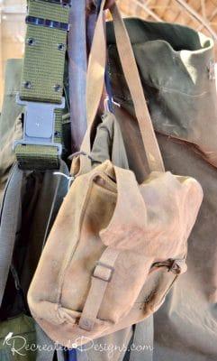 vintage canvas bag 613 flea