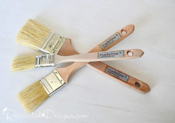 Madeline natural bristle brushes