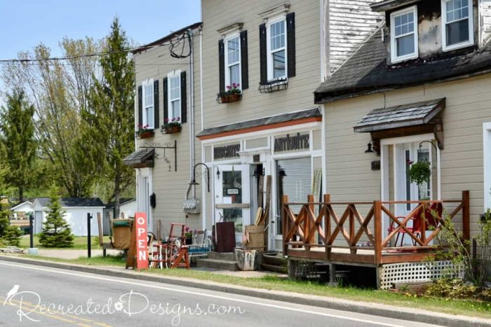 antique shop on way to Mont Tremblant, Quebec