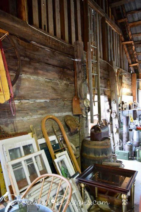 antiques and vintage finds Finnegan's Market Hudson Quebec