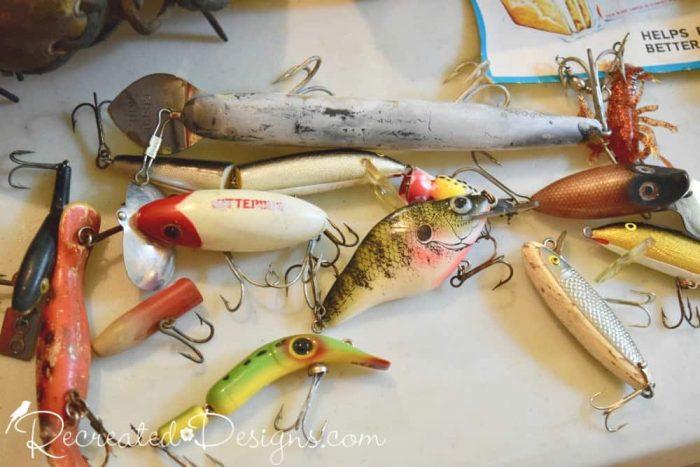 vintage fishing lures Finnegan's Market