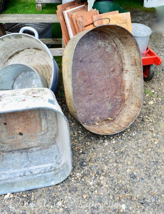 old wash basins Finnegan's Market