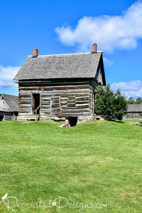 old log house 1860