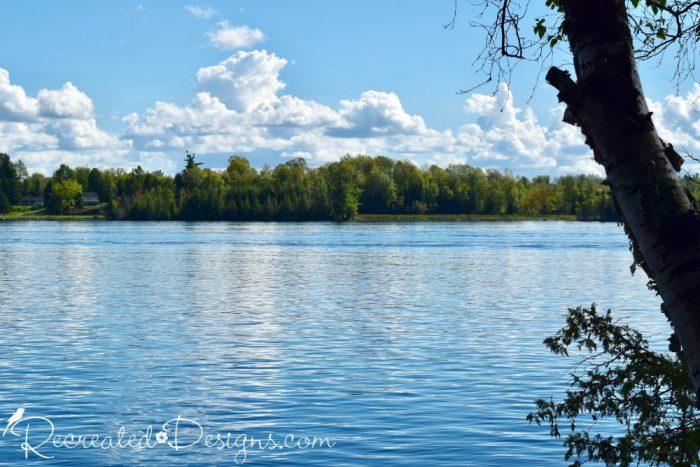 beautiful lake in Eastern Ontario