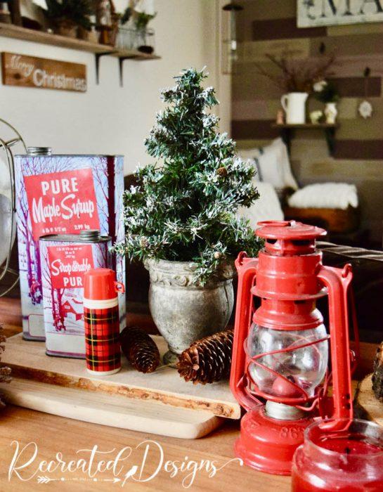 vintage finds holiday decor