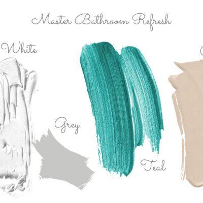 bathroom colour scheme for paint