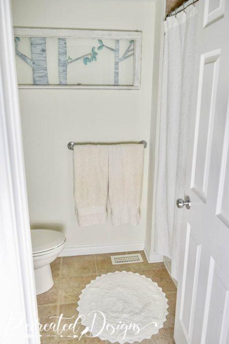 round bathroom rug