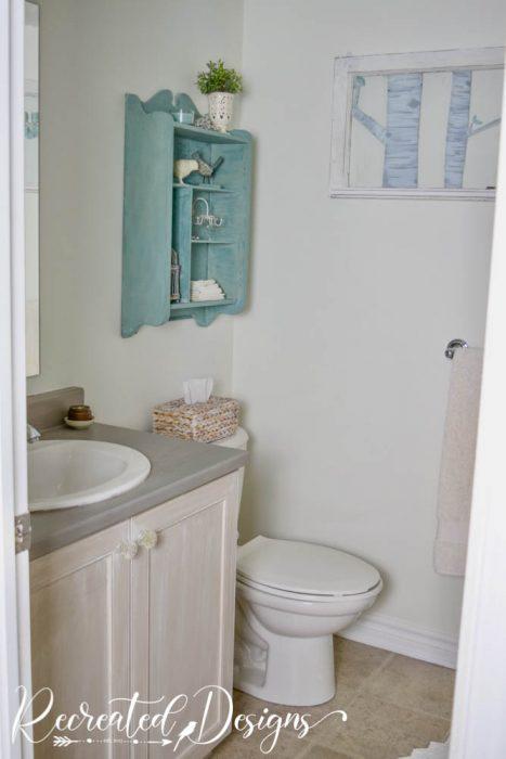 bathroom refreshed