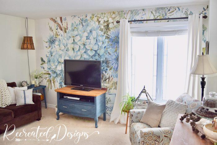 Photowall mural Bohemian Blue