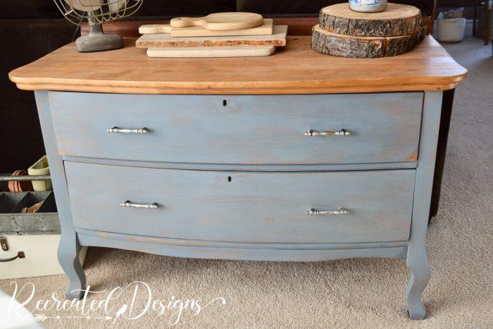 old queen anne dresser