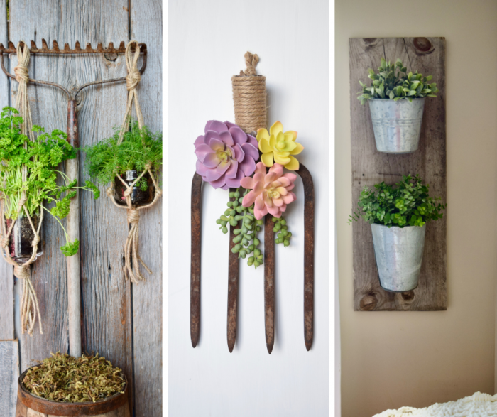 garden tool upcycle