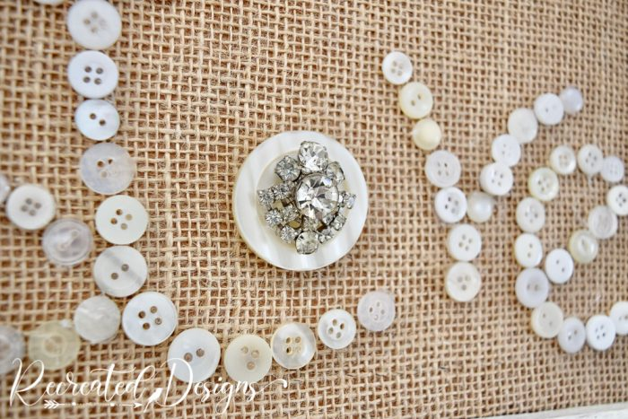 vintage jewelry used in art